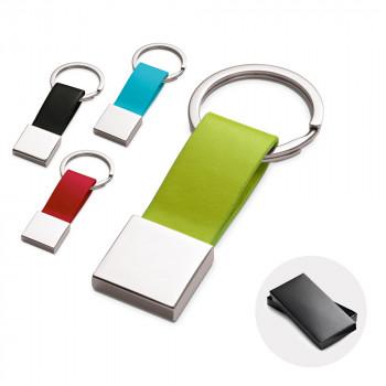 Porte clés en similicuir personnalisé 93178