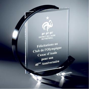 Trophée Plexy personnalisé PLO76