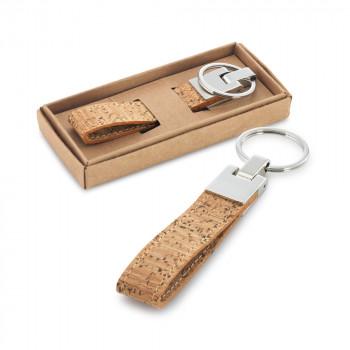 Porte clés en liège personnalisé 93145
