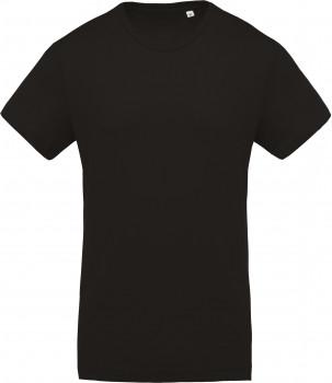 Tee-shirt coton Bio col rond homme personnalisé K371