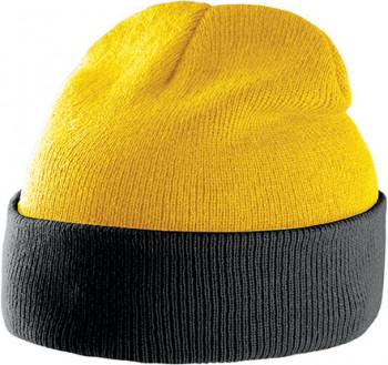 Bonnet Bicolore avec Revers personnalisé
