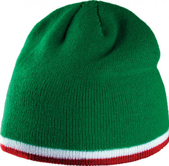 Bonnet Bande bicolore personnalisé