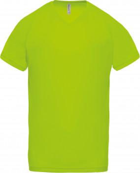 Tee-shirt réspirant col V homme personnalisé PA476