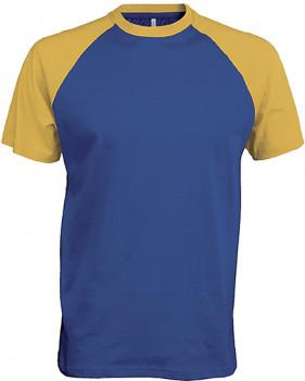 Tee - shirt base ball homme personnalisé K330
