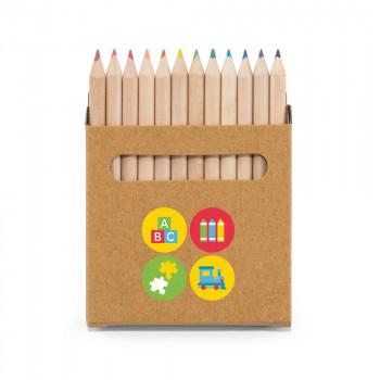 Set 12 crayon de couleurs personnalisés
