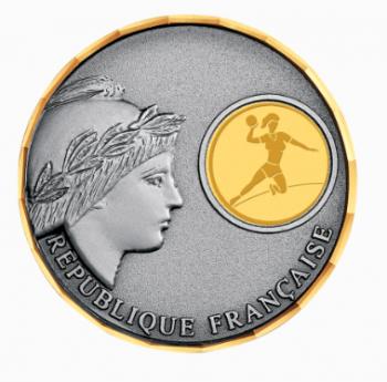 Médaille Laiton Marianne personnalisé