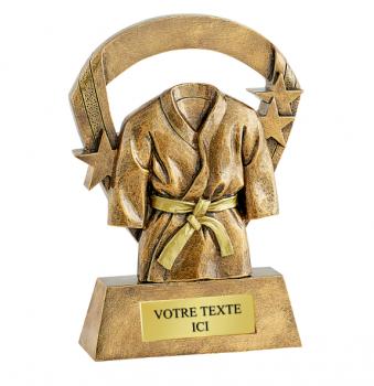 Trophée Judo personnalisé