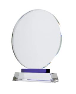 Trophée en Cristal personnalisé