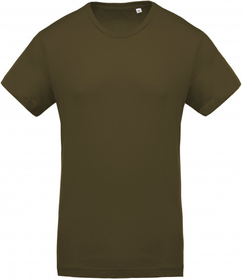 Tee-shirt Coton Bio Col Rond Homme personnalisé