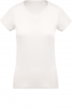 Tee-shirt Coton BIO Col Rond Femme personnalisé