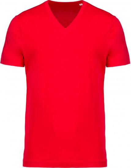 Tee-shirt Coton BIO Col V Homme personnalisé