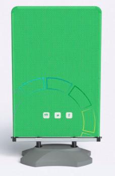 Stop Trottoir 100x160 cm personnalisé