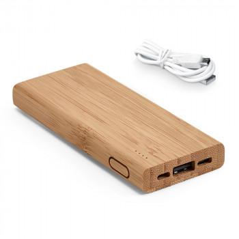 Batterie en Bambou personnalisée