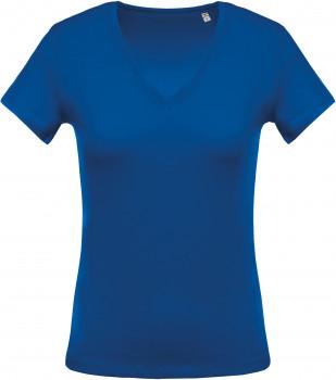 Tee-Shirt Col V Femme personnalisé
